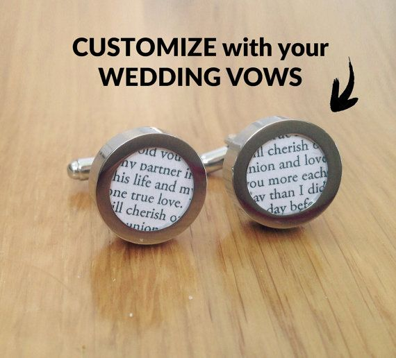 Wedding Vows 1st Anniversary Gift // Paper Anniversary Gift for Him // Personalized, Customized First Anniversary Present for Husband