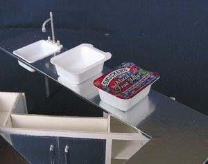1/6 1:6 scale  sink Idea -  Idea para lavaplatos, fregadero