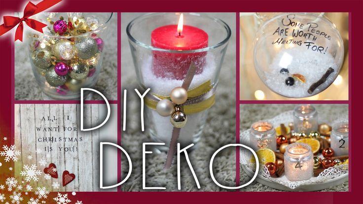 DIY LAST MINUTE DEKO - Ideen & Inspirationen | #ChristmasCountdown