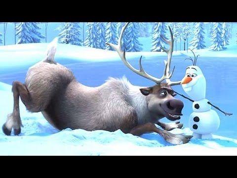 La Reine des Neiges (Frozen) - Bande Annonce (Disney 2013) - to go with melting snowman booklet