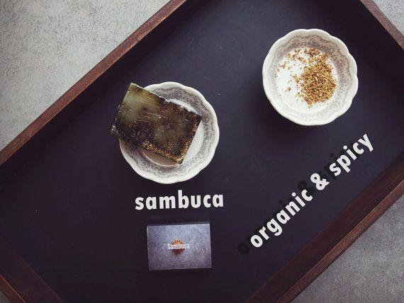 Spicy Soap Sambuca. Handmade Organic Vegan Soap. by ASTPRODUCTS