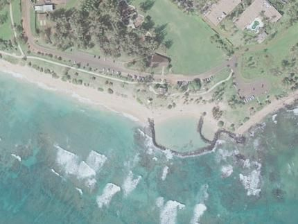 Lydgate Beach - Kauai, Hawaii Wailua An excellent beach for young kids when the tide is too rough elsewhere.
