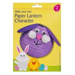 Make your own Easter themed paper lantern. Browse our range of kid's Easter kits.