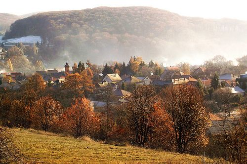 November morning Bükkszentkereszt - Hungary