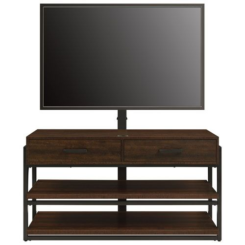 """$349.99 BestBuy Style, convenience, and durability are what this Whalen 3-in-1 TV stand is all about. Built to hold a flat panel TV up to 60"""", this stand features an integrated wall mount, giving you 3 TV setup options: wall hang, tabletop, or sp... Free shipping on orders over $35."""