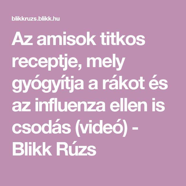 Az amisok titkos receptje, mely gyógyítja a rákot és az influenza ellen is csodás (videó) - Blikk Rúzs