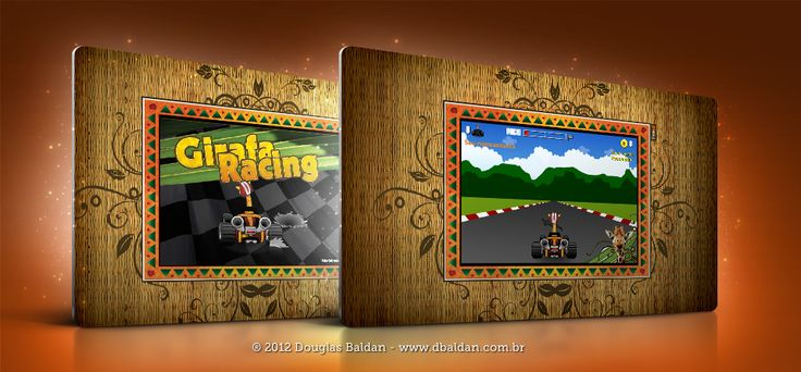 Jogo Girafa Racing | Douglas Baldan - Online Portfolio | Criar sites, blogs, Templates de Wordpress, Freelancer, layout