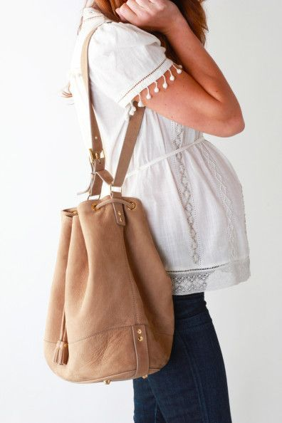 A classic handbag that will go with any outfit. Pregnancy accessories to go with your key pieces during maternity.