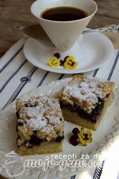 Prhki kolač od borovnica