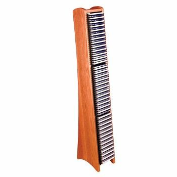 Modern 75 CD Rack Light Oak Solid Wood #Media #Storage # 85043 Shop -- http://www.rensup.com/CD-Racks/CD-Racks-Light-Oak-Fin-Solid-Wood-Media-Organization-CD-Rack/pd/85043.htm
