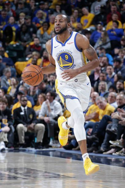 edb41d3cfb65ba Andre Iguodala of the Golden State Warriors handles the ball against the  Indiana Pacers on January 28 2019 at Bankers Life Fieldhouse in  Indianapolis.