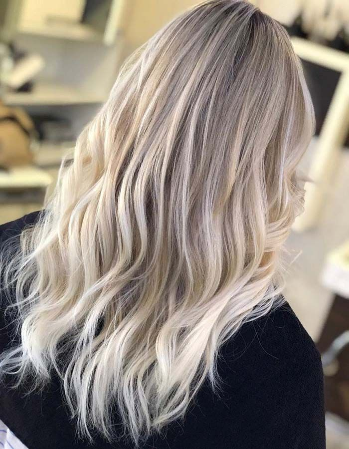 Incredible Ice Blonde Hair Color Ideas In 2019 In 2019
