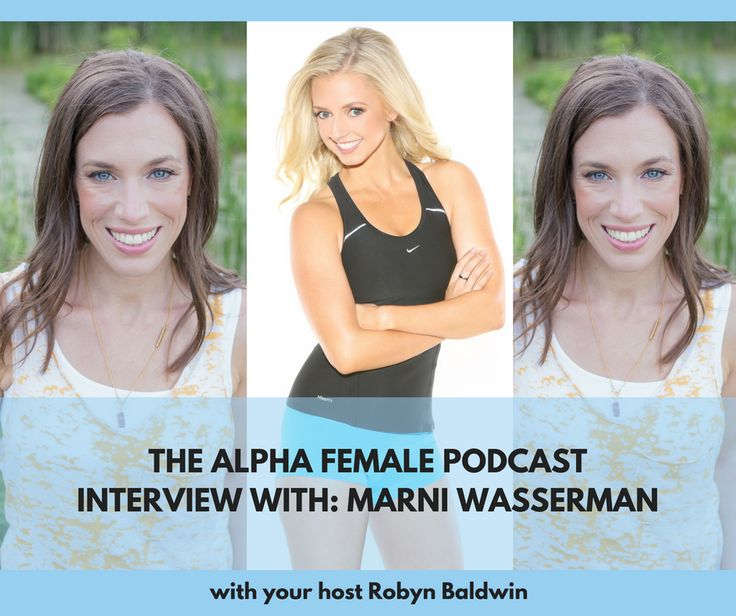 This week on the Alpha Female Podcast, Robyn interviews Marni Wasserman to find out how this nutritionist has created work / life  harmony. Check out http://robynbaldwin.com/podcast for the show notes. #alphafemale #alpha #alphafemalepodcast #podcast (scheduled via http://www.tailwindapp.com?utm_source=pinterest&utm_medium=twpin)