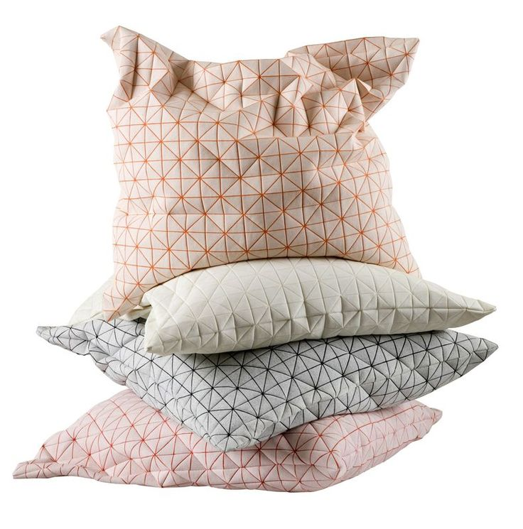 GEO Pillows - geometric pillow covers | Designer: Mika Barr for Talents