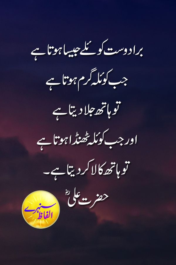 Sunehray Alfaz Quotes Quotes Of Hazrat Ali Quotes About Life