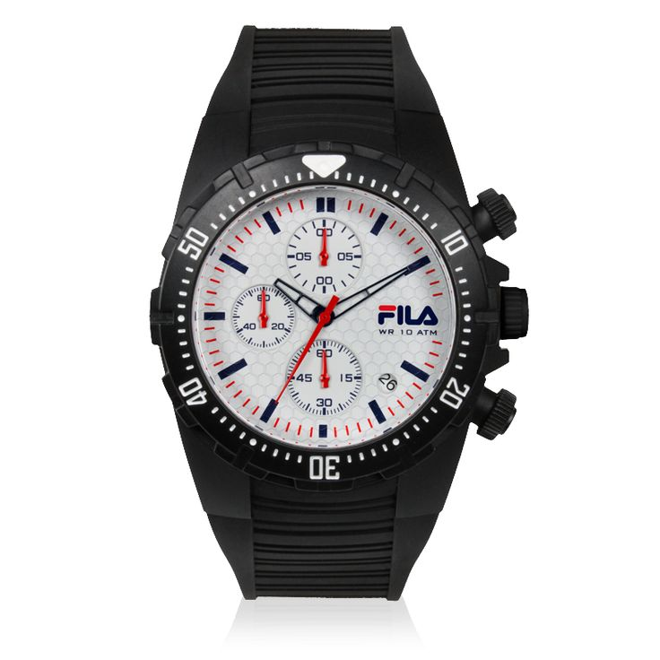 Fila watches filacasual chronograph fila watches are a statement of sporty italian for Fila watches