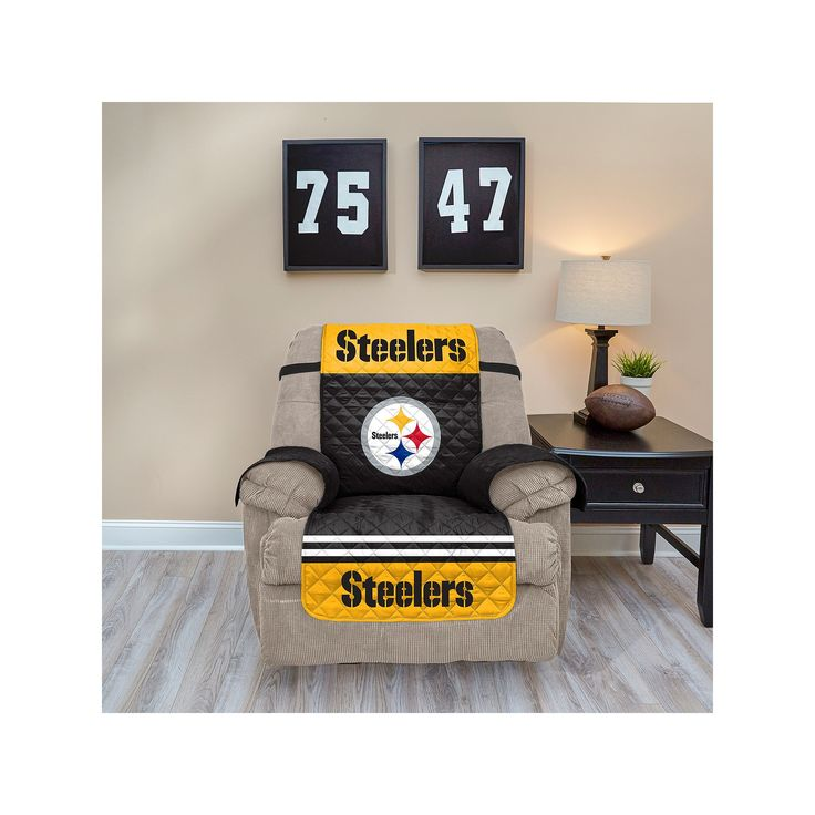 Pittsburgh Steelers Quilted Recliner Chair Cover Multicolor  sc 1 st  Pinterest & 25+ unique Recliner chair covers ideas on Pinterest | Reupolster ... islam-shia.org