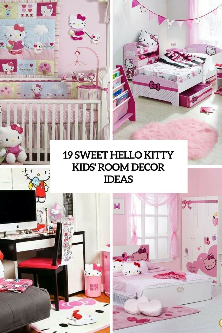 15+ Ideas About Hello Kitty Bedroom Decor And Makeover Part 63