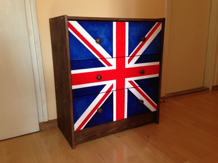 IKEA Rast Union Jack hack