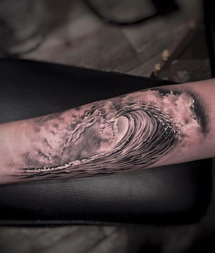 The Perfect Wave http://tattooideas247.com/perfect-wave/