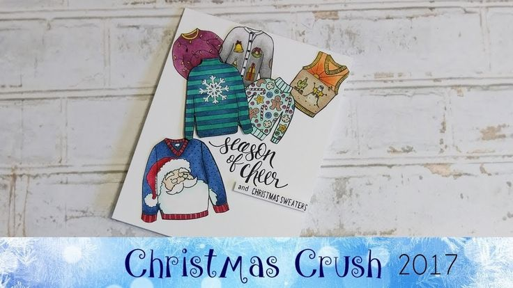 Christmas Sweater Card featuring Stampin' Up!® Products