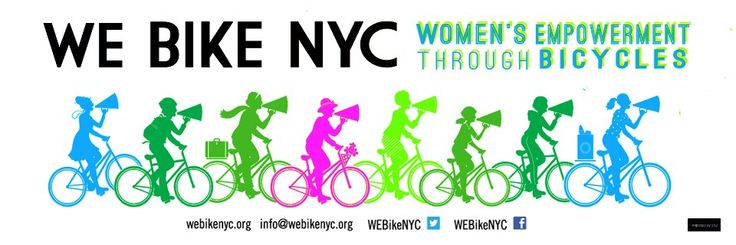 Female Bike Forum by We Bike NYC (US). The goal of the WEBikeNYC Facebook group is to create a greater sense of community amongst the female identifying and gender nonconforming folk who ride, or who are curious about riding, in NYC (and beyond)!