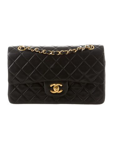 Chanel Small Classic Double Flap Bag  with authenticity card, and dust bag