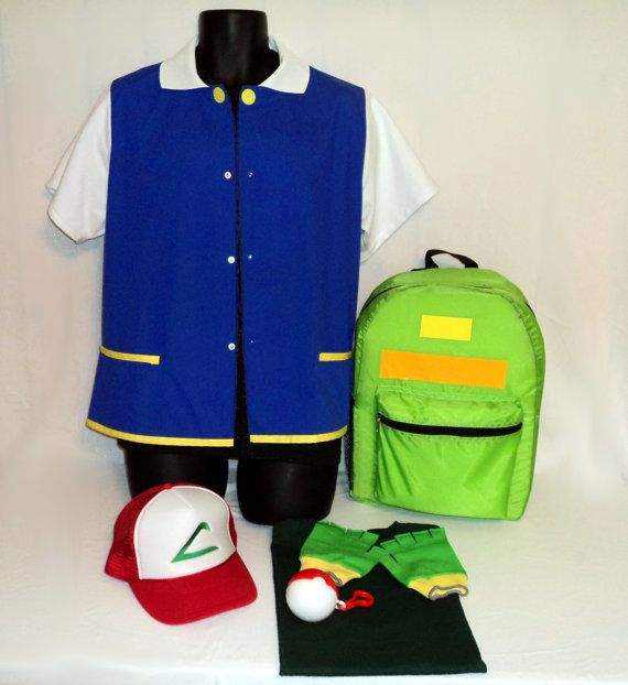 Ash Ketchum Trainer Pokemon Costume set Halloween by costumefair, $110.00