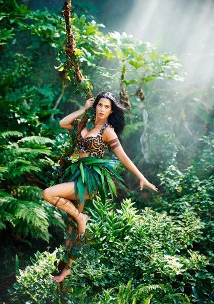 Katy in the jungle!
