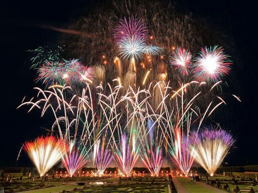 Another shot of the 2009 International Fireworks Competition