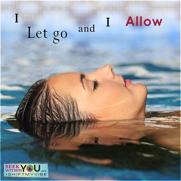 I let go and I allow!  Letting go and allowing are essential parts of mastering the Law of Attraction. When you let go, you essentially allow your manifestations to come into your reality. It is as simple as that. Stop resisting and learn how to relax and let go.  #lawofattraction #affirmation
