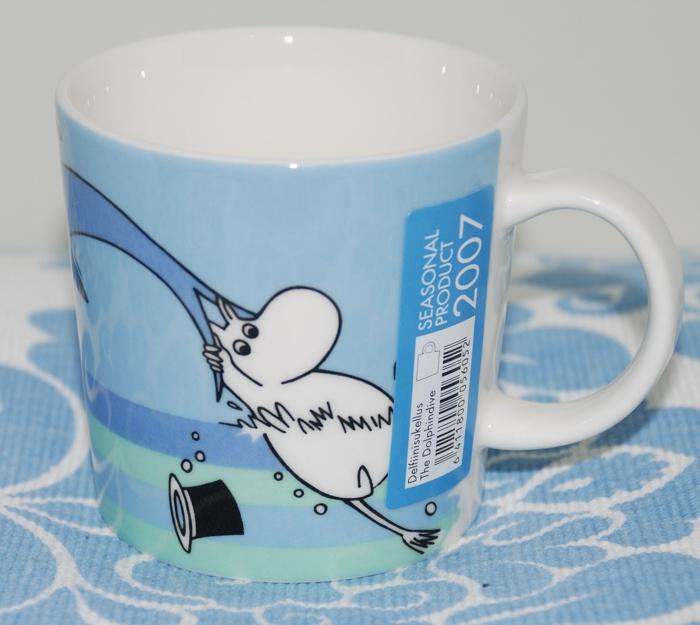 Dolphin Dive Moomin mug - Summer 2007