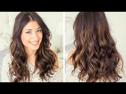 Heatless Waves Hair Tutorial - My hair refuses to curl normally but this is worth a shot