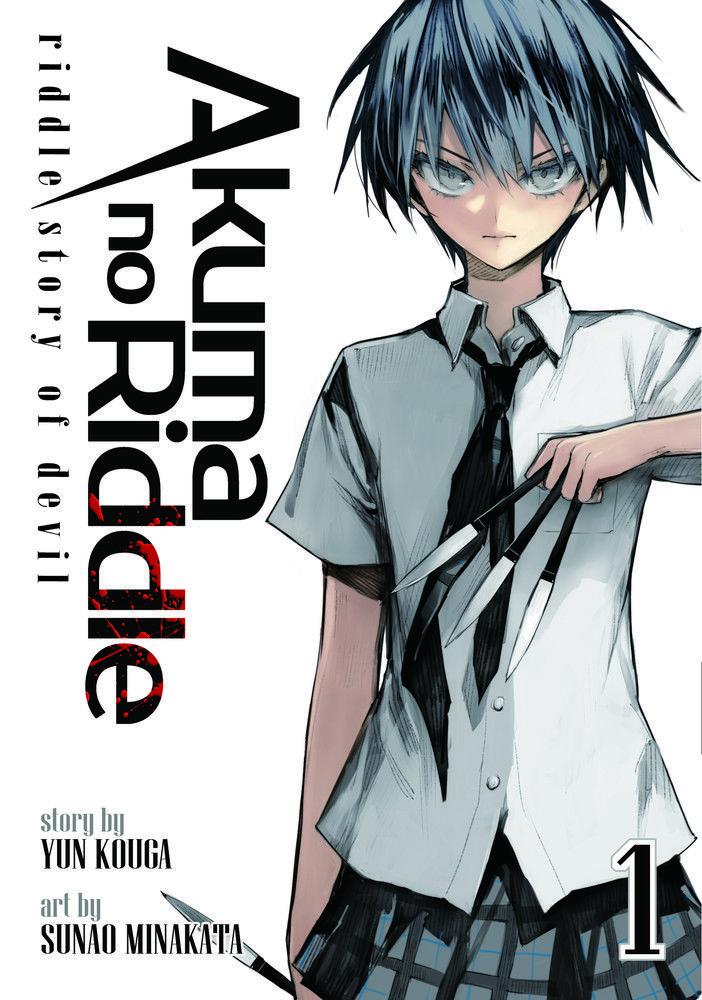 Finaliza el Manga Akuma no Riddle de Yun Kouga y Sunao Minakata.