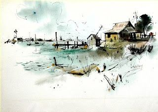 edgar a whitney watercolor | The Edgar Whitney Watercolor Site
