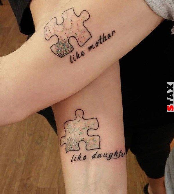 STAX   21 tetoválás, ami kifejezi az elszakíthatatlan anya-lánya kapcsolatot