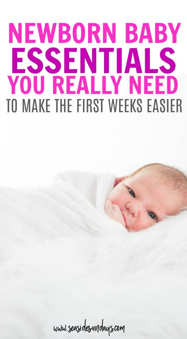 6 Newborn Baby Essentials That Will Make Moms Life Easier Female