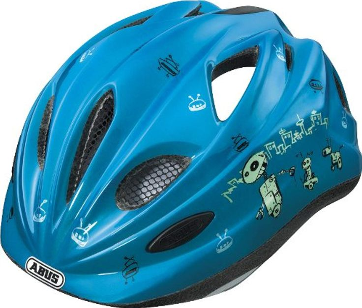 Der Spielzeugtester hat das ABUS Kinder Fahrradhelm Chilly, Blue, 46-52 cm, 4804… – Spielzeugtester