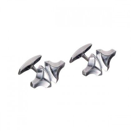 Kalevala Koru / Kalevala Jewelry / Torin vasara 2.0 -kalvosinnapit / Thor's Hammer 2.0 Cufflinks / Designer: Tony Granholm / Material: silver or bronze