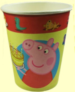 Peppa Pig Party Cups
