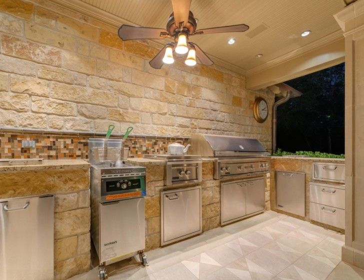 kitchen Outdoor LightingBeautiful Outdoor Kitchen Ideas for Summer