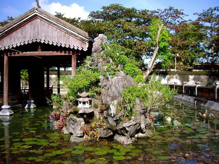 Templo del Placer situado en la Ciudad Imperial de Hue, Vietnam.