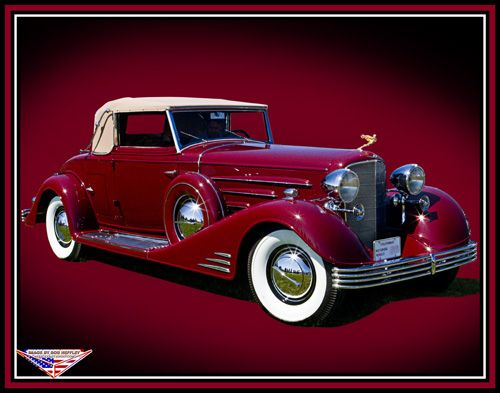 Cadillac 1933 V-16 convertible coupe