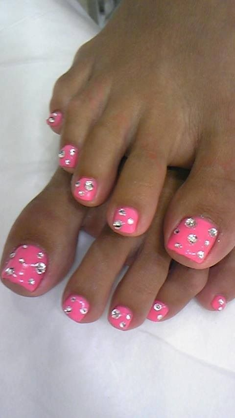 Pink with bling