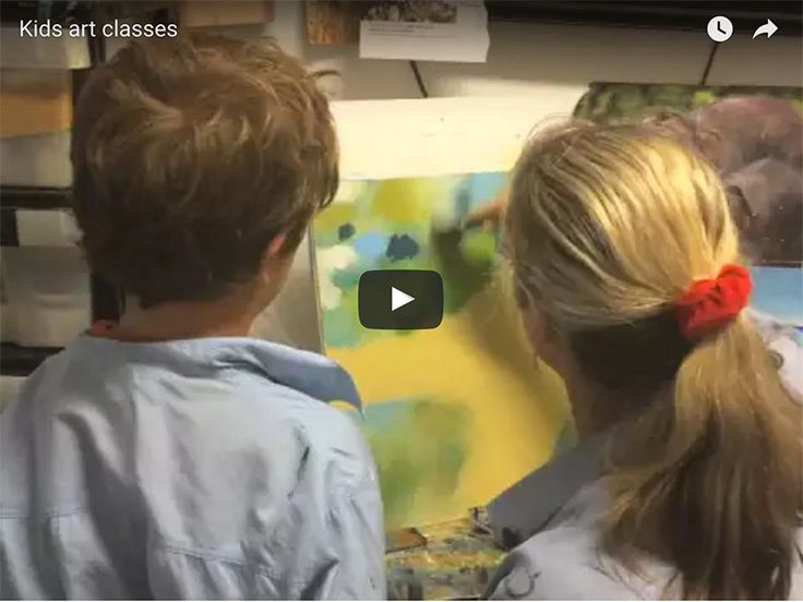 """When is a #painting finished? #LeonardodaVinci seemed to nail it when he said """"A painting is never finished, just abandoned"""" #kidsartclasses #childrensartclasses #paintingforkids #drawingforkids"""