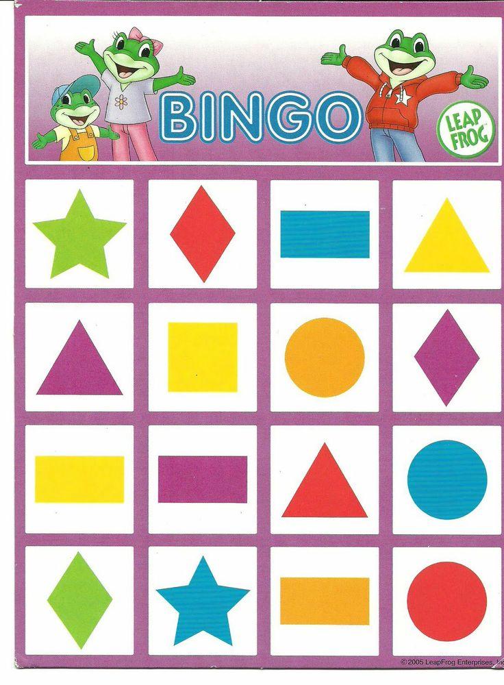 * Bingo vormen! 1-4                                                       … …