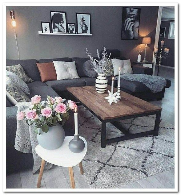 50 Brilliant Living Room Decor Ideas In 2019: 50 Inspiring Apartment Living Room Decorating Ideas