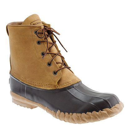 LaCrosse® for J.Crew duck boots | A Very Secret Pinterest Sale: 25% off any order at jcrew.com for 48 hours with code SECRET.