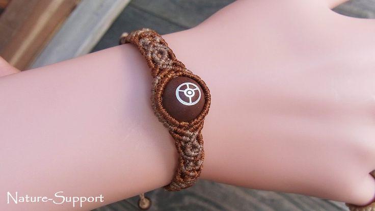 巻き結びブレスレットの作り方【マクラメ編み】SEDONA Vortex Stone Beads Macrame Bracelet Tutorial