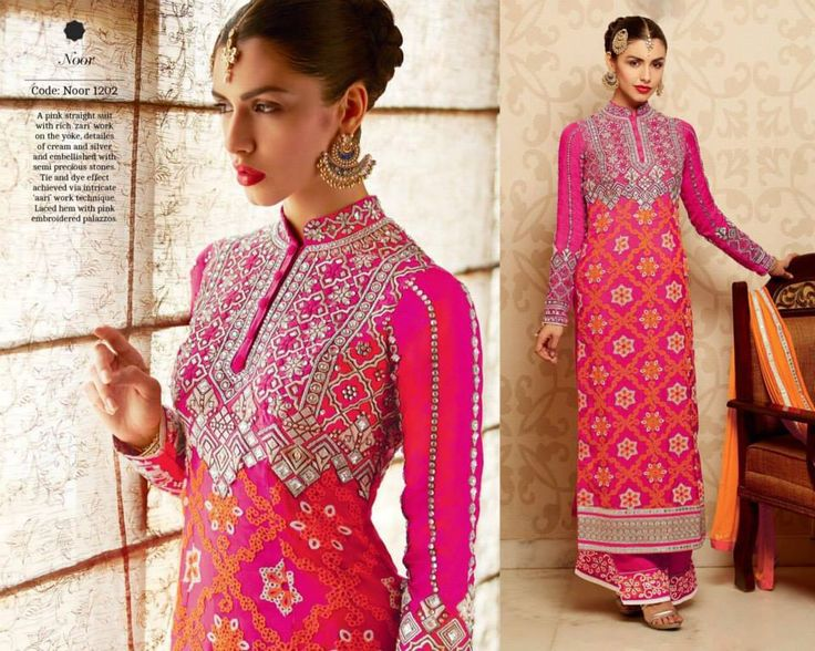 """""""Fabulous ethnic"""" <3 <3 Code: fabe kmneonpnk Price:6395/- Material: Semi-stitched/georgette/chiffon dupatta. For booking and further details pls call or whatsapp us at +919600639563 Happy shopping y'all :) Be Beautiful :)"""
